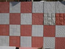 Плитка тротуарная, элементы благоустройства