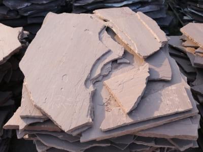 Сланец, песчаник коричневый