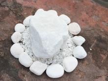 Скала мраморная белая