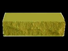Кирпич фактурный, зеленый