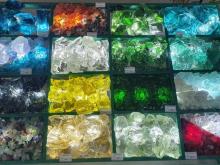 Стекло цветное кусковое (Эрклез)