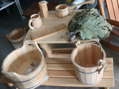 Аксессуары для бани и сауны