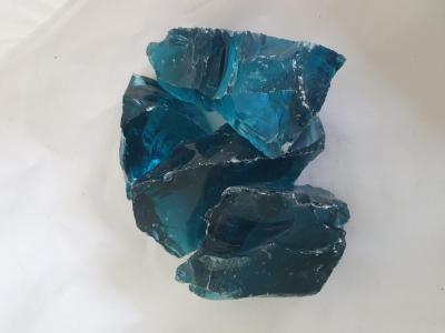 Стекло кусковое синее (Эрклез)