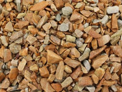 Каменная крошка златолита ф 10-20, упаковка 20 кг