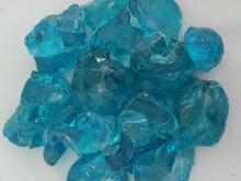 Стекло кусковое голубое (Эрклез)
