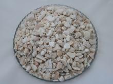 Мраморная крошка галтованная белая 10-20 мм.