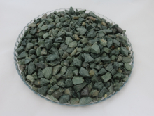 Крошка декоративная зелёная, 10-20 мм, упаковка 20 кг.