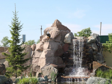 Водопад исскуственный